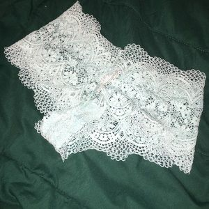 NWT VS Body by Victoria Crochet Lace Shortie